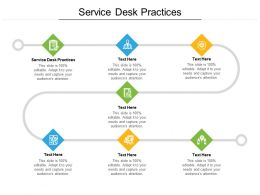 Service Desk Practices Ppt Powerpoint Presentation Styles Format Cpb