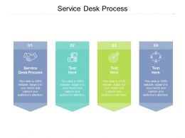 Service Desk Process Ppt Powerpoint Presentation Ideas Templates Cpb