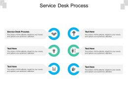 Service Desk Process Ppt Powerpoint Presentation Outline Graphics Tutorials Cpb