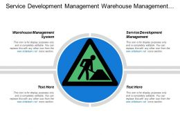Service Development Management Warehouse Management System Design Program