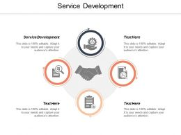 Service Development Ppt Powerpoint Presentation Pictures Styles Cpb