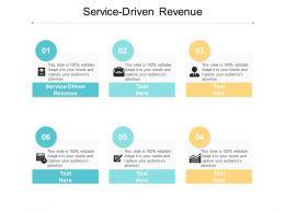 Service Driven Revenue Ppt Powerpoint Presentation Portfolio Designs Cpb