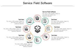 Service Field Software Ppt Powerpoint Presentation Slides Summary Cpb