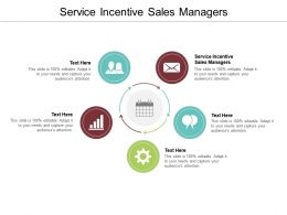 Service Incentive Sales Managers Ppt Powerpoint Presentation Layouts Icon Cpb