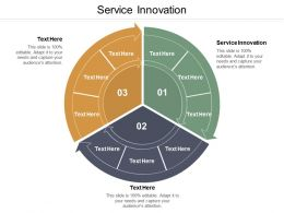 Service Innovation Ppt Powerpoint Presentation Ideas Tips Cpb