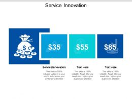 Service Innovation Ppt Powerpoint Presentation Infographics Shapes Cpb