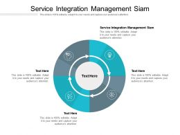 Service Integration Management Siam Ppt Powerpoint Presentation Gallery Sample Cpb