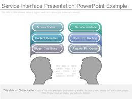 Service Interface Presentation Powerpoint Example
