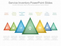 Service Inventory Powerpoint Slides