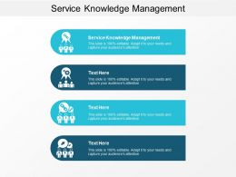 Service Knowledge Management Ppt Powerpoint Presentation Infographic Template Inspiration Cpb
