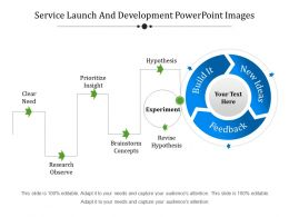 Service Launch And Development Powerpoint Images