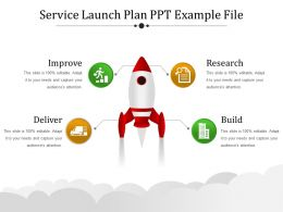 Service Launch Plan Ppt Example File