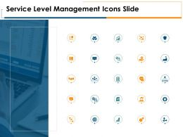 Service Level Management Icons Slide Growth Server Ppt Powerpoint Presentation Portfolio Tips