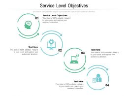 Service Level Objectives Ppt Powerpoint Presentation Portfolio Clipart Images Cpb