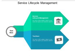Service Lifecycle Management Ppt Powerpoint Presentation Outline Graphics Tutorials Cpb