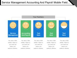 Service Management Accounting And Payroll Mobile Field Service Capability Uplift