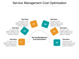 Service Management Cost Optimization Ppt Powerpoint Presentation File Layout Cpb