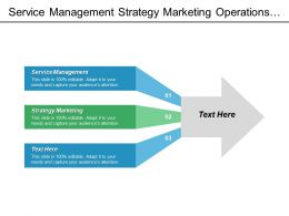 Service Management Strategy Marketing Operations Strategy Portfolio Management Cpb