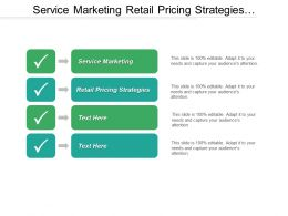 Service Marketing Retail Pricing Strategies Marketing Advertising Strategies Cpb