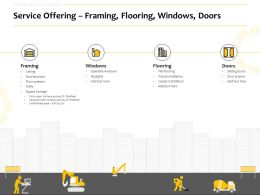Service Offering Framing Flooring Windows Doors Ppt Powerpoint Style Picture