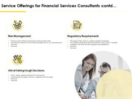 Service Offerings For Financial Services Consultants Contd Ppt Inspiration