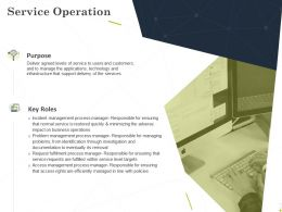 Service Operation Ppt Powerpoint Presentation Summary Guide