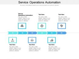 Service Operations Automation Ppt Infographic Template Picture Cpb