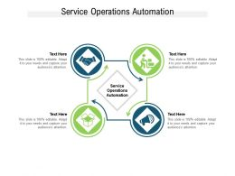 Service Operations Automation Ppt Powerpoint Presentation Icon Slideshow Cpb