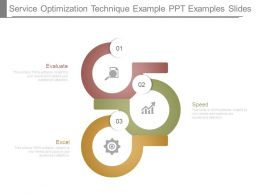 Service Optimization Technique Example Ppt Examples Slides