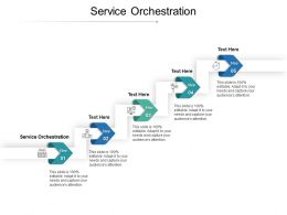 Service Orchestration Ppt Powerpoint Presentation Professional Grid Cpb