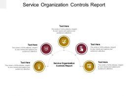 Service Organization Controls Report Ppt Powerpoint Presentation Portfolio Background Image Cpb