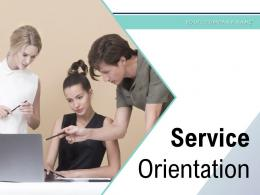 Service Orientation Customer Satisfaction Circular Architecture Process Gear Leadership