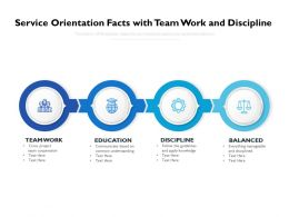 Service Orientation Facts With Team Work And Discipline