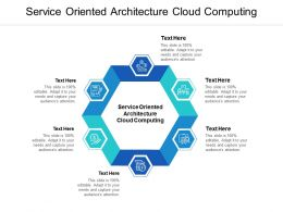 Service Oriented Architecture Cloud Computing Ppt Powerpoint Presentation Infographics Information Cpb