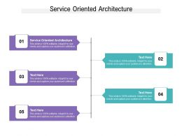 Service Oriented Architecture Ppt Powerpoint Presentation Infographics Themes Cpb