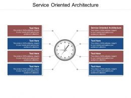 Service Oriented Architecture Ppt Powerpoint Presentation Portfolio Images Cpb