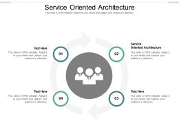 Service Oriented Architecture Ppt Powerpoint Presentation Professional Background Designs Cpb
