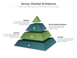 Service Oriented Architecture Ppt Powerpoint Presentation Slides Infographics Cpb