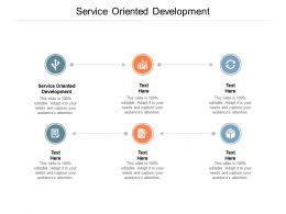 Service Oriented Development Ppt Powerpoint Presentation Model Maker Cpb