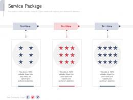 Service Package New Service Initiation Plan Ppt Structure
