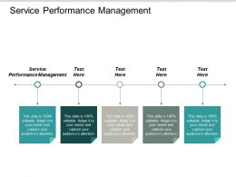 Service Performance Management Ppt Powerpoint Presentation Professional Rules Cpb