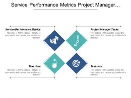 Service Performance Metrics Project Manager Tasks Leadership Development Cpb