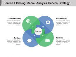 Service Planning Market Analysis Service Strategy Path Market
