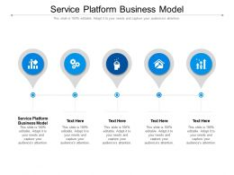 Service Platform Business Model Ppt Powerpoint Presentation File Rules Cpb