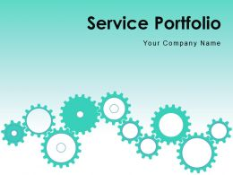 Service Portfolio Management Structure Catalogue Gear Process Flow Chart Progress Knowledge