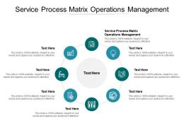 Service Process Matrix Operations Management Ppt Powerpoint Presentation File Slide Portrait Cpb