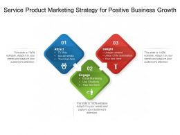 Service Product Marketing Strategy For Positive Business Growth