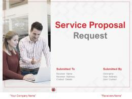 Service Proposal Request Powerpoint Presentation Slides