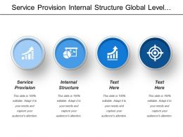 Service Provision Internal Structure Global Level Network Partnership