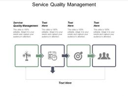 Service Quality Management Ppt Powerpoint Presentation Ideas Master Slide Cpb